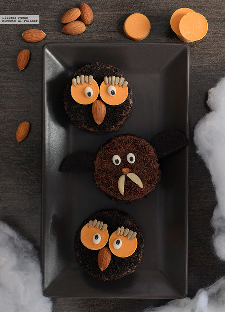 Monstruitos de chocolate. Receta fácil de Halloween