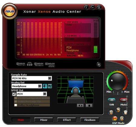 Asus Xonar Xense One Interfaz
