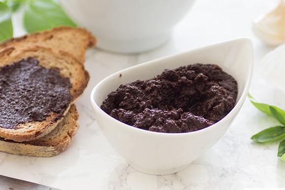 Tapenade De Aceitunas Negras Receta De Cocina Fácil Sencilla Y Deliciosa