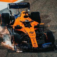El golpe de Max Verstappen pudo evitar que Carlos Sainz consiguiese en Baréin su primer podio en Fórmula 1