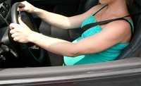 La seguridad de la embarazada en el coche