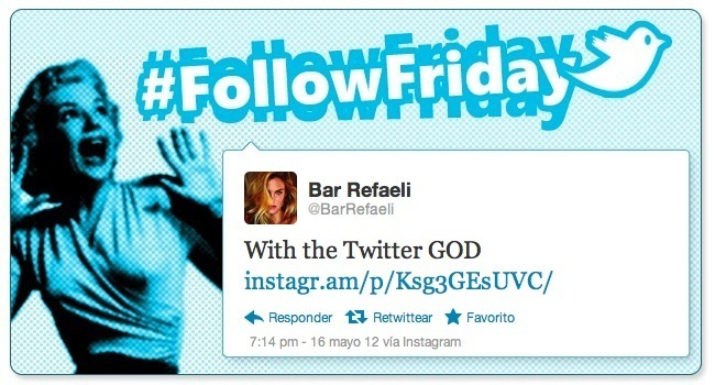 follow friday bar refaeli