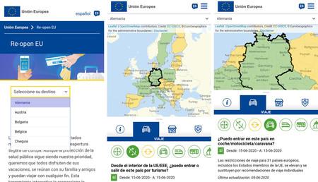 Viajar por Europa en verano: a qué país puedo ir con el coche, se usa o no mascarilla... Así es la app oficial que responde las dudas