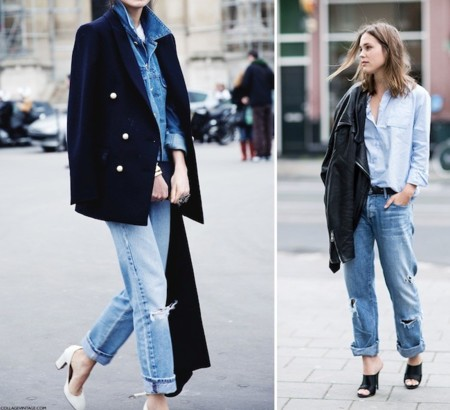 outfits sencillos denim