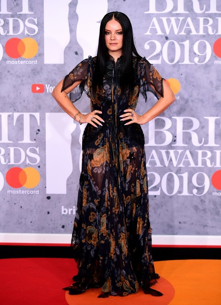 Lily Allen brit awards 2019