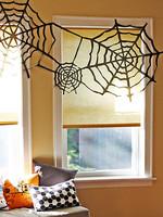 Telas de araña de papel