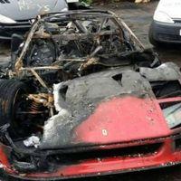 Dolorpasión™: Un Ferrari F40 que en sus primeros kilómetros tras ser restaurado se incendia