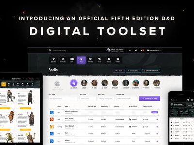 Roleros del mundo, regocijaos: D&D anuncia un cliente digital para tus fichas de personaje