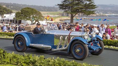 Este Mercedes-Benz de 1929, ganador del concurso de elegancia de Pebble Beach