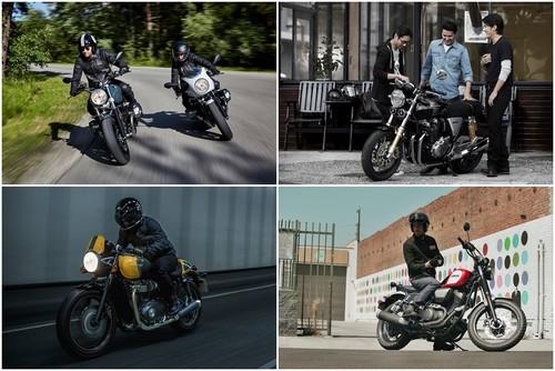 La segunda vida de las motos retro, así se presenta el panorama en 2017 tras el INTERMOT