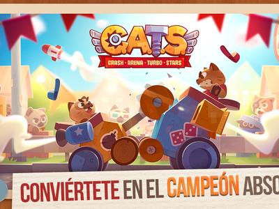 CATS: Crash Arena Turbo Stars, ya están aquí los combates de máquinas de guerra y gatos de ZeptoLab