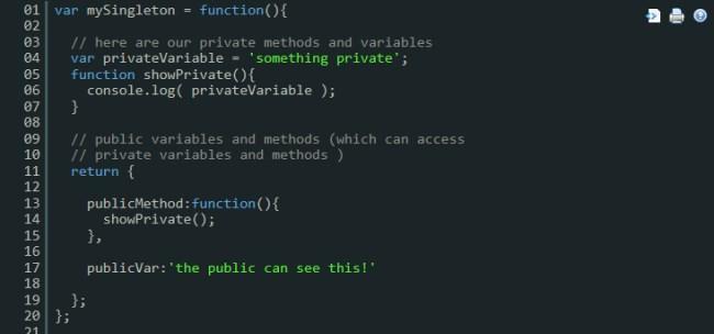 Singletone en JavaScript