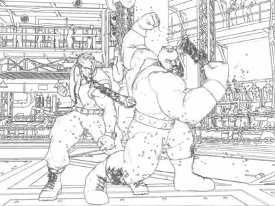 Con el mod adecuado, los luchadores de Street Fighter V lucen como espectaculares dibujos artesanales