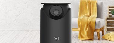 Seguridad en 360º 2K con la cámara de videovigilancia doméstica Yi Dome U Pro a 37,49 euros en Amazon, su mínimo histórico