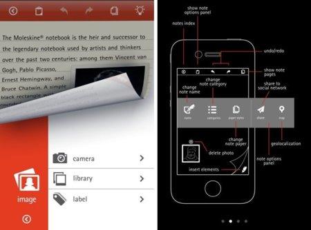 Moleskine, la afamada libreta de notas llega al iPhone