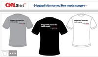A la venta camisetas con los titulares del día