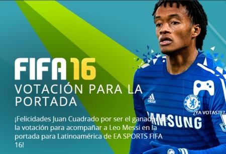 Cuadrado y Messi, las estrellas que brillarán en la portada de FIFA 16 para Latinoamérica