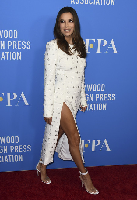 eva longoria red carpet hollywood foreign press