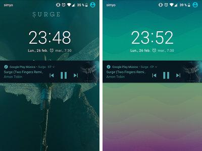 Cómo quitar la carátula del álbum en la pantalla de bloqueo en Google Play Music