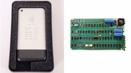 Apple I y iPhone original a subasta: hazte con un trocito de la historia de Apple a cambio de unos pocos miles de dólares