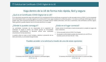 Web Del Ministerio