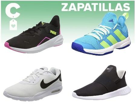 Chollos en tallas sueltas de  zapatillas Nike, Puma o Adidas por 30 euros o menos en Amazon