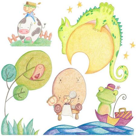 Ilustración Cuentos Diferentes para Niños Diferentes