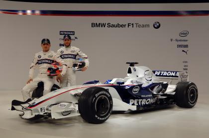 Presentado el nuevo BMW Sauber F1.08