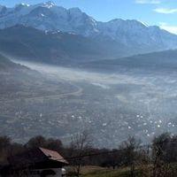 El aire de los Alpes está muy contaminado