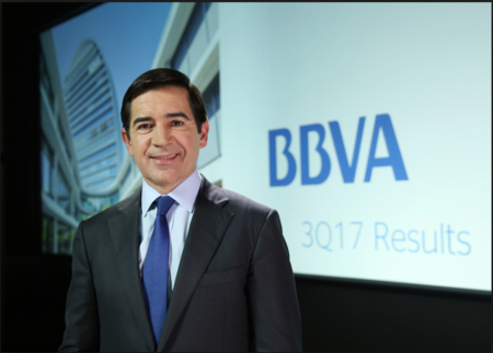 Así es el futuro presidente del BBVA, Carlos Torres Vila