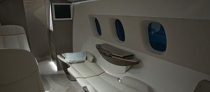 jets privados con interiores dise ados por bmw. Black Bedroom Furniture Sets. Home Design Ideas