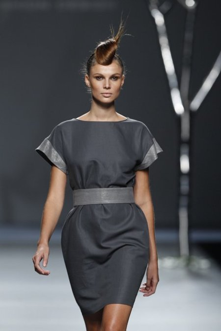 Gris Sara Coleman Cibeles Madrid Fashion Week