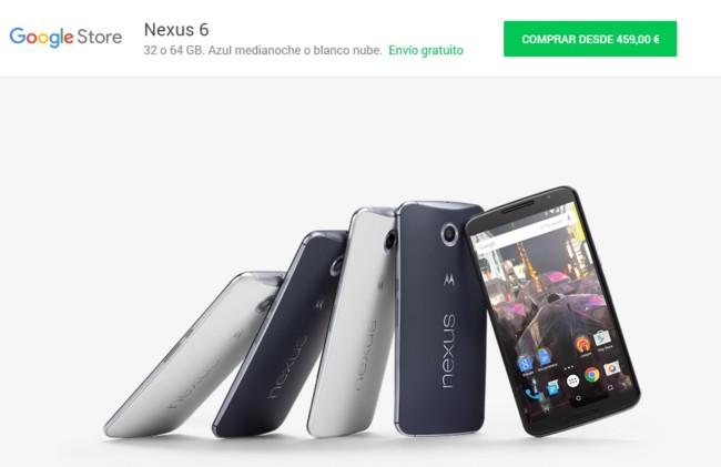 Nexus 6 Rebajado