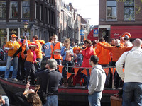 El 'Día de la Reina', la fiesta naranja de Holanda