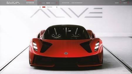 Lotus Evija Sera Completamente Configurable 1