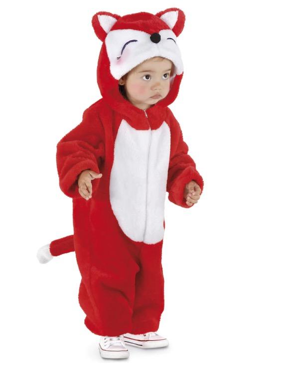 Disfraz de bebé Zorrito Talla 1-2 años
