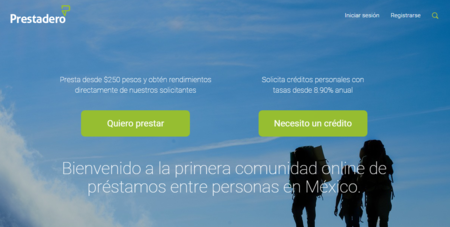 Prestadero, préstamos de persona a persona a través de internet