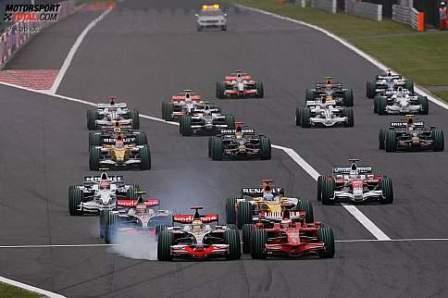La salida del Gran Premio de China volverá a ser de infarto