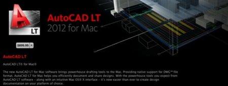AutoCAD LT 2012 para OS X disponible en la Mac App Store