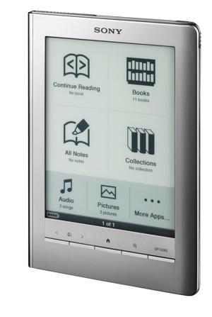 Sony PRS-600 y PRS-300 popularizan los lectores de libros electrónicos