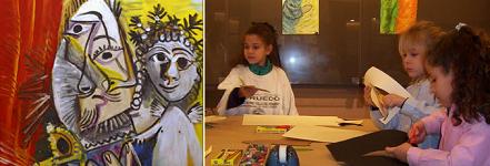 Talleres infantiles en el Museo de Bellas Artes de Asturias