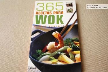 365 recetas para wok. Libro de recetas