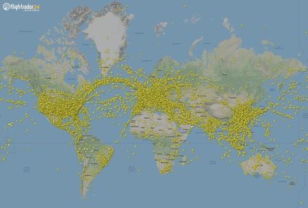 230.000 vuelos registrados en un sólo día en todo el planeta: un nuevo récord que se batió esta semana no una, sino dos veces