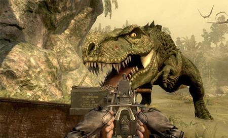 'Jurassic: The Hunted', dinosaurios, armas y explosiones en vídeo