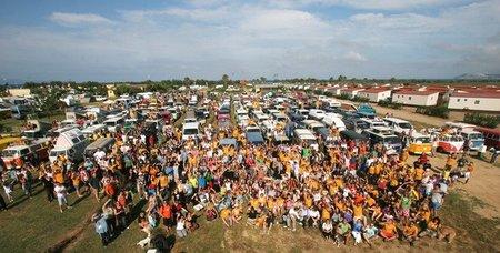 La VIII Concentración de furgonetas Volkswagen se celebrará el 4 y 5 de junio