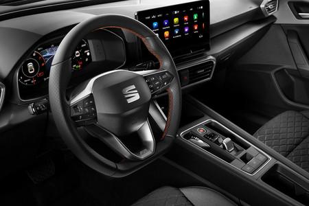 Gama nuevo SEAT León interior
