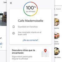 Google Maps te sugiere restaurantes que te gustan con su nueva 'afinidad'