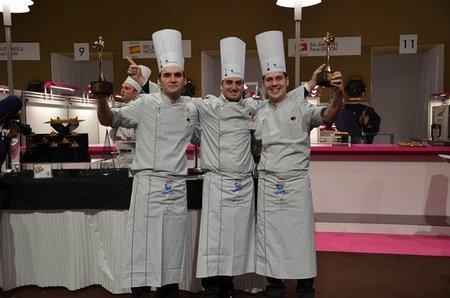 Romain Fornell y su equipo, ganan el primer premio del European Catering Cup