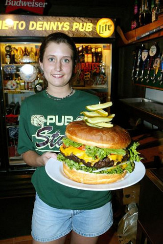 XXXL hamburguesa