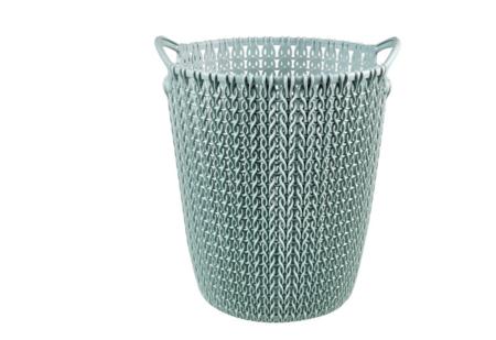 Cestillo Knit Azul 23x24 Cm